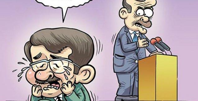 Davutoğlu'nun çaresizliği Penguen'de: Yaa oyları ben istiycektim ama!