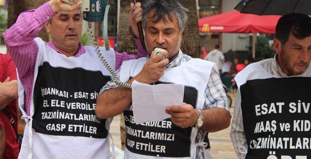 DEBA işçileri 'rahatsızlık' verdi