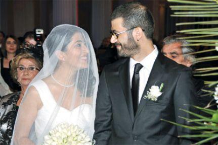 Delal Dink ve Rober Koptaş'ın düğünü