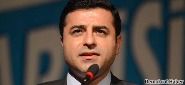 Demirtaş: AKP-Cemaat kavgası demokrasi kavgası değil