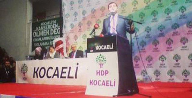 Demirtaş: AKP'yi telaş sarmış, HDP'nin oyunu sayıyor