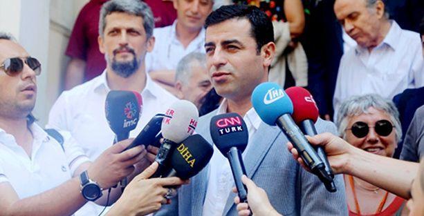 Demirtaş: Bir Müslüman, Ermeninin ve Rum'un hakkını savunursa Müslümandır