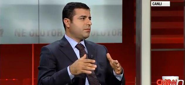 Demirtaş: Ergenekon'da suçsuz insanlar da mevcut!
