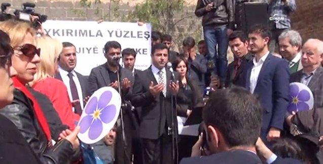 Demirtaş: Ermeni toplumunun yasını tutmak istiyoruz