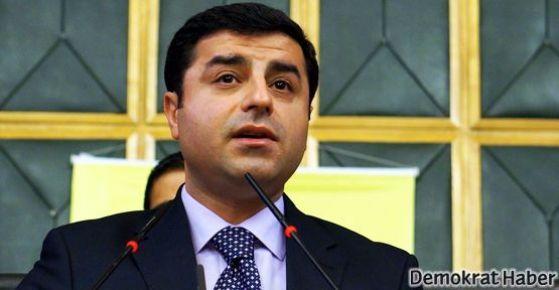 Demirtaş: Gezi'ye değil Ergenekonculara mesafe koyduk