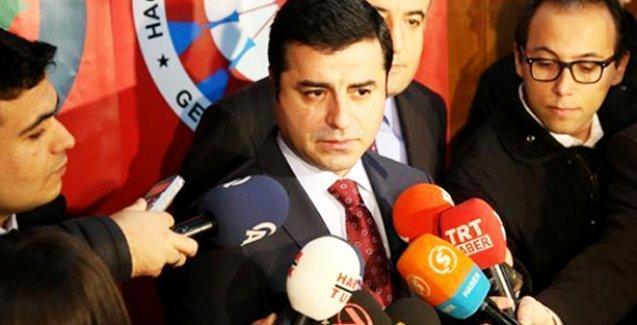 Demirtaş: HDP ile AKP arasında ateşkes olmaz