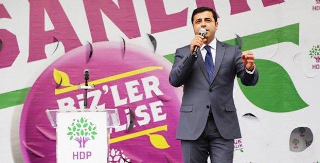 Demirtaş: HDP, Robin Hood hareketidir