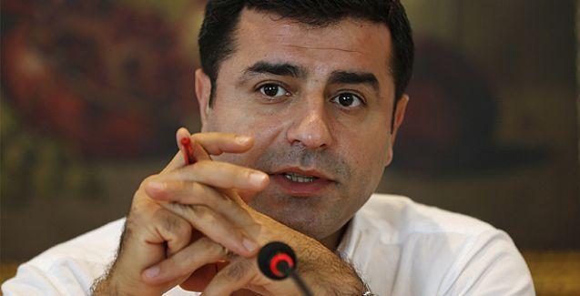 Demirtaş: İzleme Heyeti HDP'nin kırmızı çizgisi değildir, yeterki süreç ilerlesin