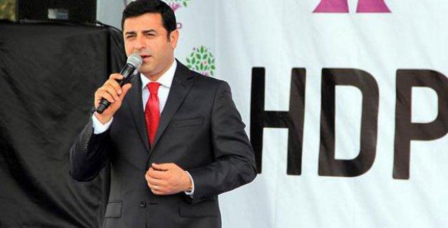 Demirtaş: Kürtçe Kur'an'ı basıp Cumhurbaşkanı'nın mitingine yetiştirdiler, halka ulaştırmadılar
