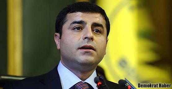 Demirtaş: MHP olmazsa bu ülkeye barış gelmeyecek mi?