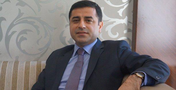 Demirtaş: Erdoğan sarayında istirahate çekilsin