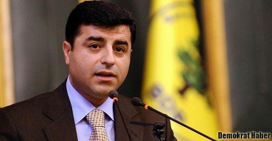 Demirtaş: Öcalan'la görüşme Başbakan'ın yetkisinde değil