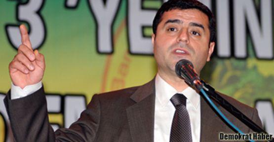Demirtaş: Parti olarak Öcalan'ın yürüttüğü sürecin arkasındayız