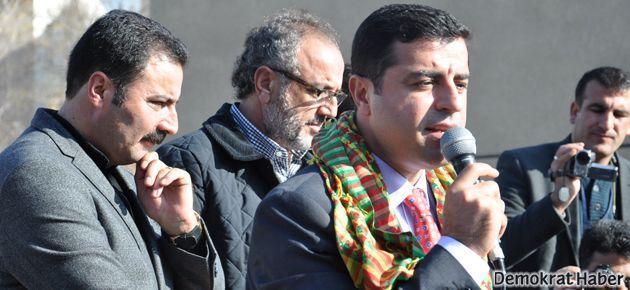 Demirtaş: Hedeflenen Türkiye'nin siyasi atmosferidir