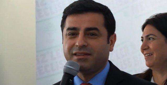 Demirtaş: Davutoğlu'nun yerinde olsam HDP'ye oy veririm