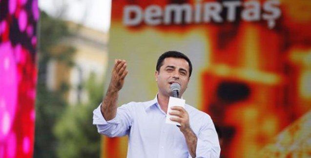 Demirtaş'tan Erdoğan'a: Büyük usta sarayında mutlu olacaktı şimdi huzursuz