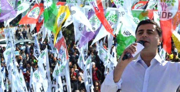 Teşekkür mitinginde Demirtaş'tan Erdoğan'a baraj yanıtı