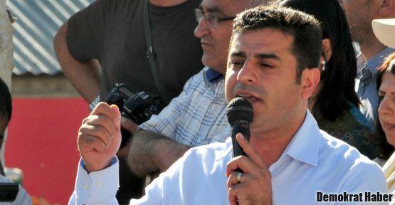 Demirtaş: Türkiye, Suriye Kürdistanı'na saygı göstermeli