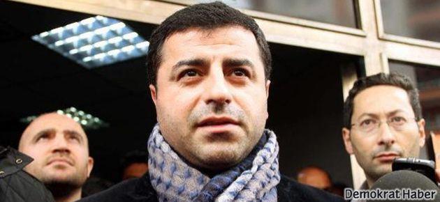 Demirtaş'tan CHP'ye: Sırrı Süreyya tek aday olsun