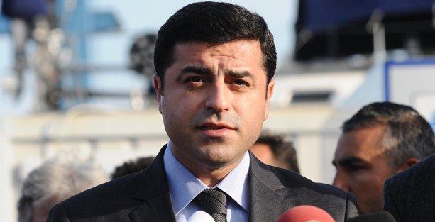 Demirtaş'tan Kadir İnanır'ın adaylığına ilişkin açıklama