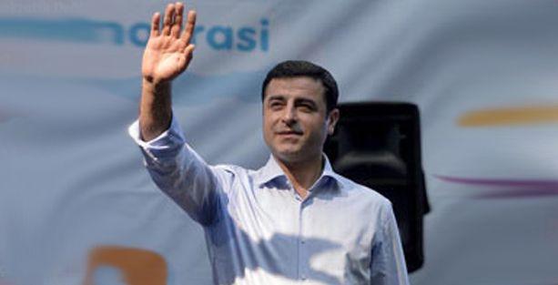 Demirtaş'tan Şahin'e: Bu tehdidi Başbakan'ın bile söylemedi