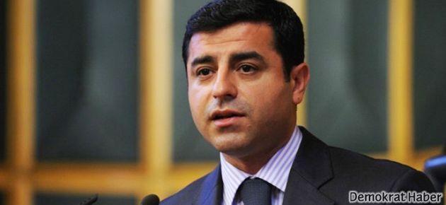 Demirtaş'tan Sırrı Sakık'a 'yolsuzluk' eleştirisi