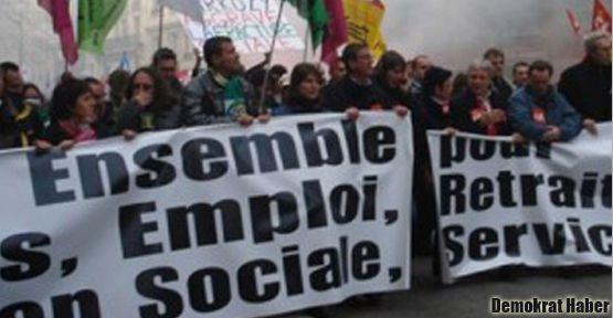 Demiryolu grevi Fransa'yı sarstı