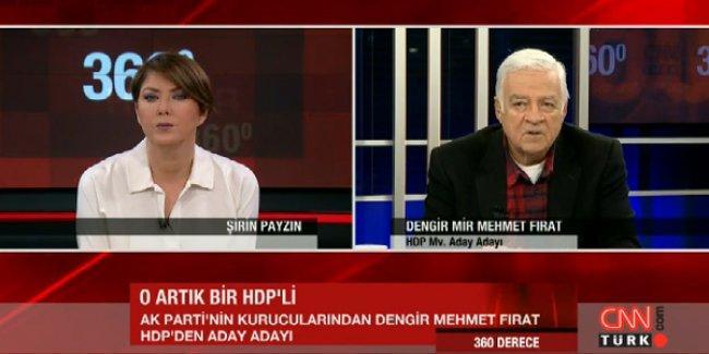 Dengir Mir: HDP yüzde 15 civarında oy alacak diye düşünüyorum
