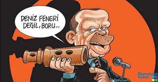 DENİZ FENERİ DEĞİL, BORU!