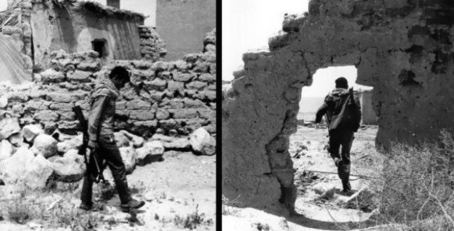 Deniz Gezmiş'in Filistin direnişindeykenki fotoğrafları
