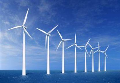 Denizde en büyük rüzgar santrali