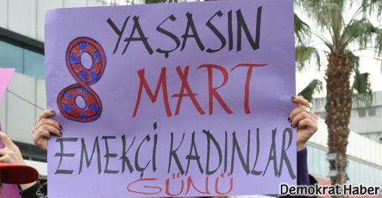 Denizli'de kadınlara polis müdahalesi