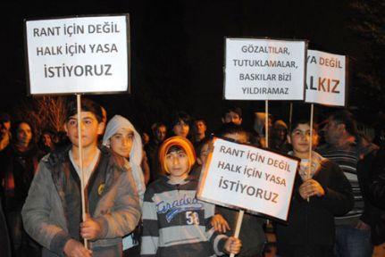 Derbentliler: Mafya değil halkız!
