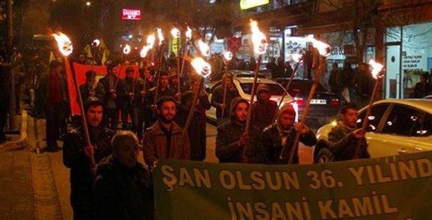 Dersim'de Bahçeli  protestosu