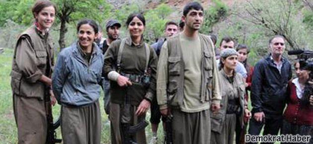 Dersim'de bir grup, 'çekilen' PKK'lilerle karşılaştı