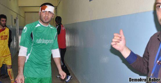 Tunceli'deki maçta kavga: 22 yaralı