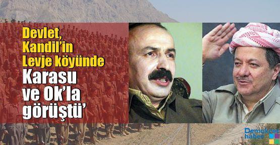 'Devlet, Kandil'in Levje köyünde Karasu ve Ok'la görüştü'