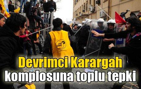 Devrimci Karargah komplosuna toplu tepki
