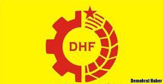 DHF İzmir binasına ülkücü saldırı