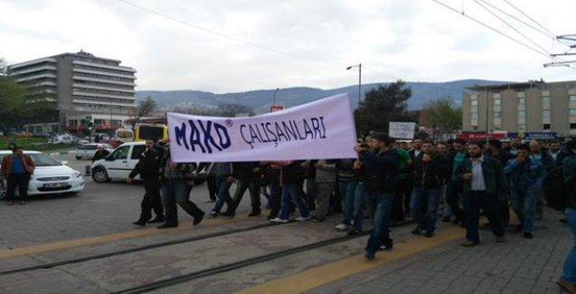 Direnen işçilerin bir zaferi daha: Mako işçilerinin talepleri de kabul edildi