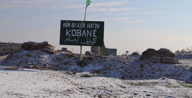 Direnişin 119'uncu gününde Kobani beyaza büründü