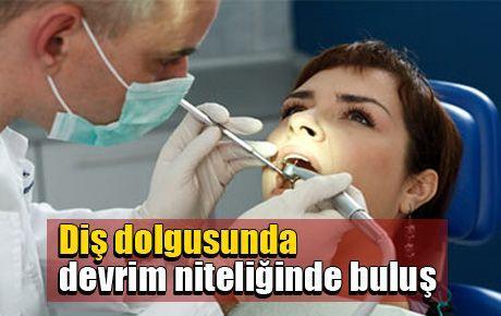 Diş dolgusunda devrim niteliğinde buluş