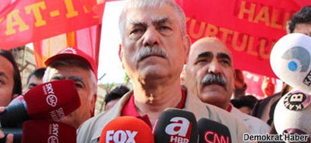 DİSK: Taksim'den şimdilik vazgeçiyoruz