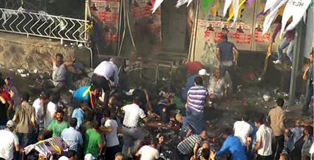 Diyarbakır'daki patlama: 3 ölü, 300'den fazla yaralı