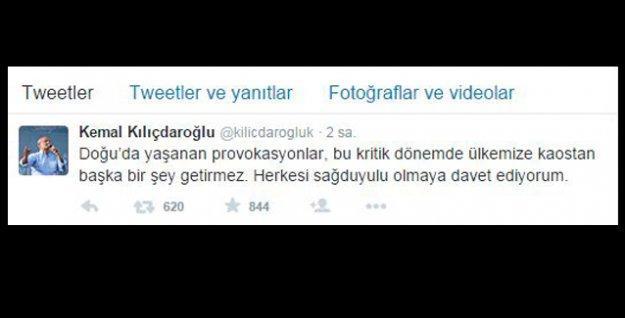 Diyarbakır'daki saldırılara dikkati çeken Kılıçdaroğlu'ndan sağduyu çağrısı
