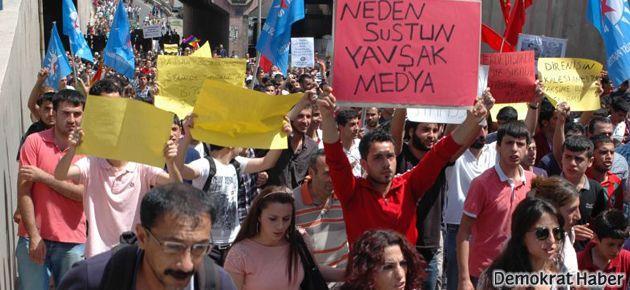 Diyarbakır ve Van'dan 'Gezi' direnişine destek