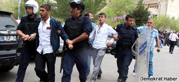 Diyarbakır'da gözaltındaki 61 öğrenciden 40'ı serbest