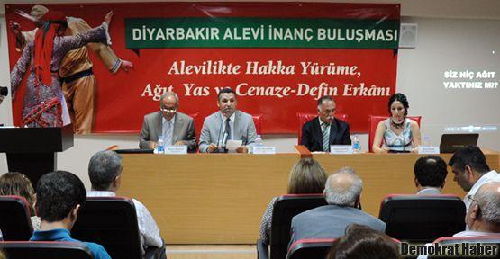 Diyarbakır'da Alevi İnanç Buluşması gerçekleşti