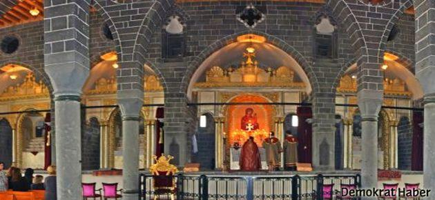 Diyarbakır'da 'Kilise ismi' ayini