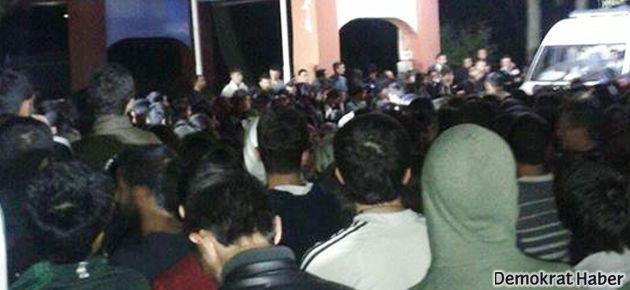 Diyarbakır'da öğrenciler tacize karşı yürüdü